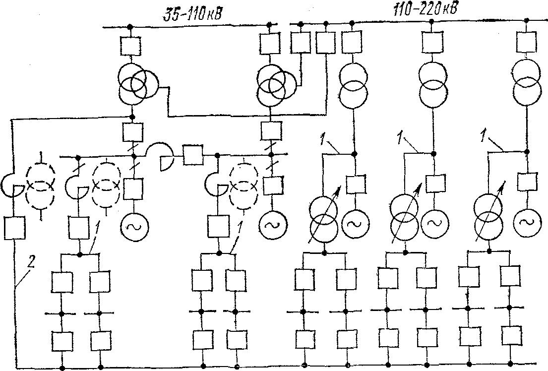 Условные обозначения на однолинейных электрических схем.  Принципиальная электрическая схема спец-imma-200.