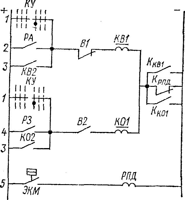 Схема подключения ЭКМ для