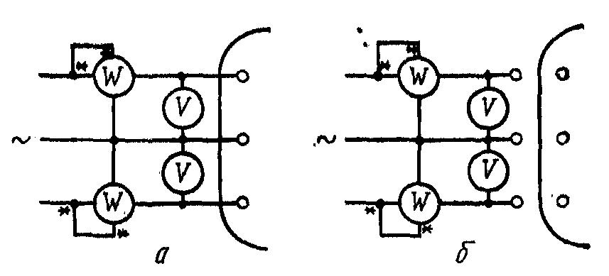 Схема измерения потерь