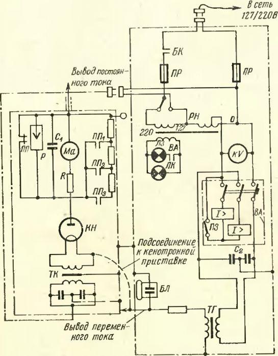Принципиальная схема аппарата