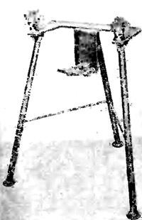 Переносная стойка для газовой сварки проводов