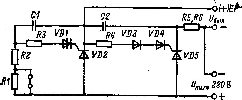 схема прерывателя постоянного тока ППБ-2
