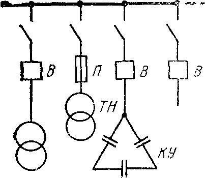 Схема подключения обособленной