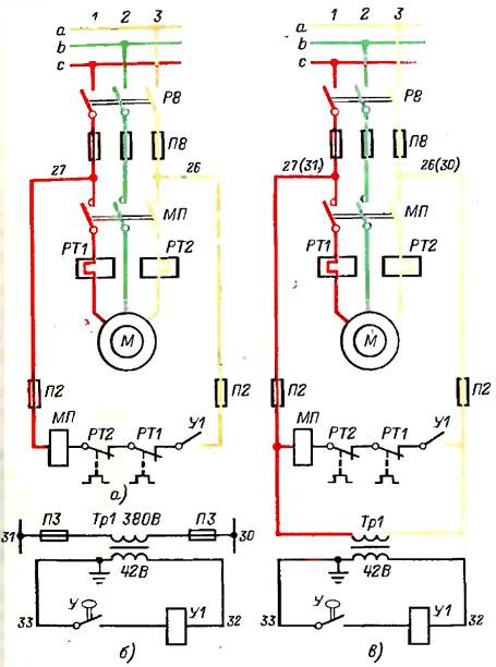 электродвигателем насоса