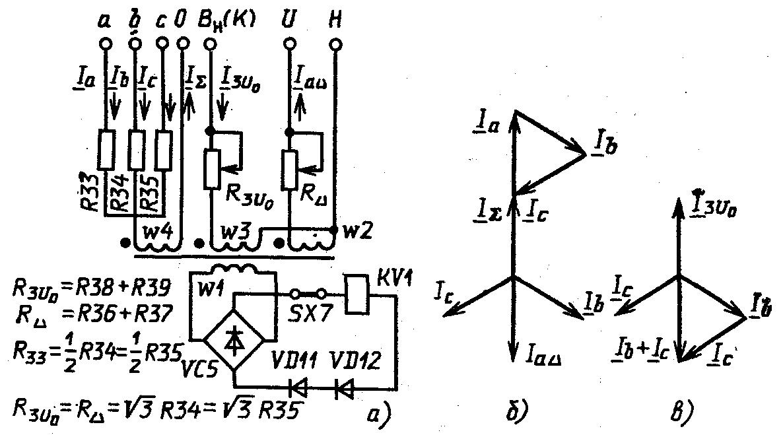 Схема блокировки цепей