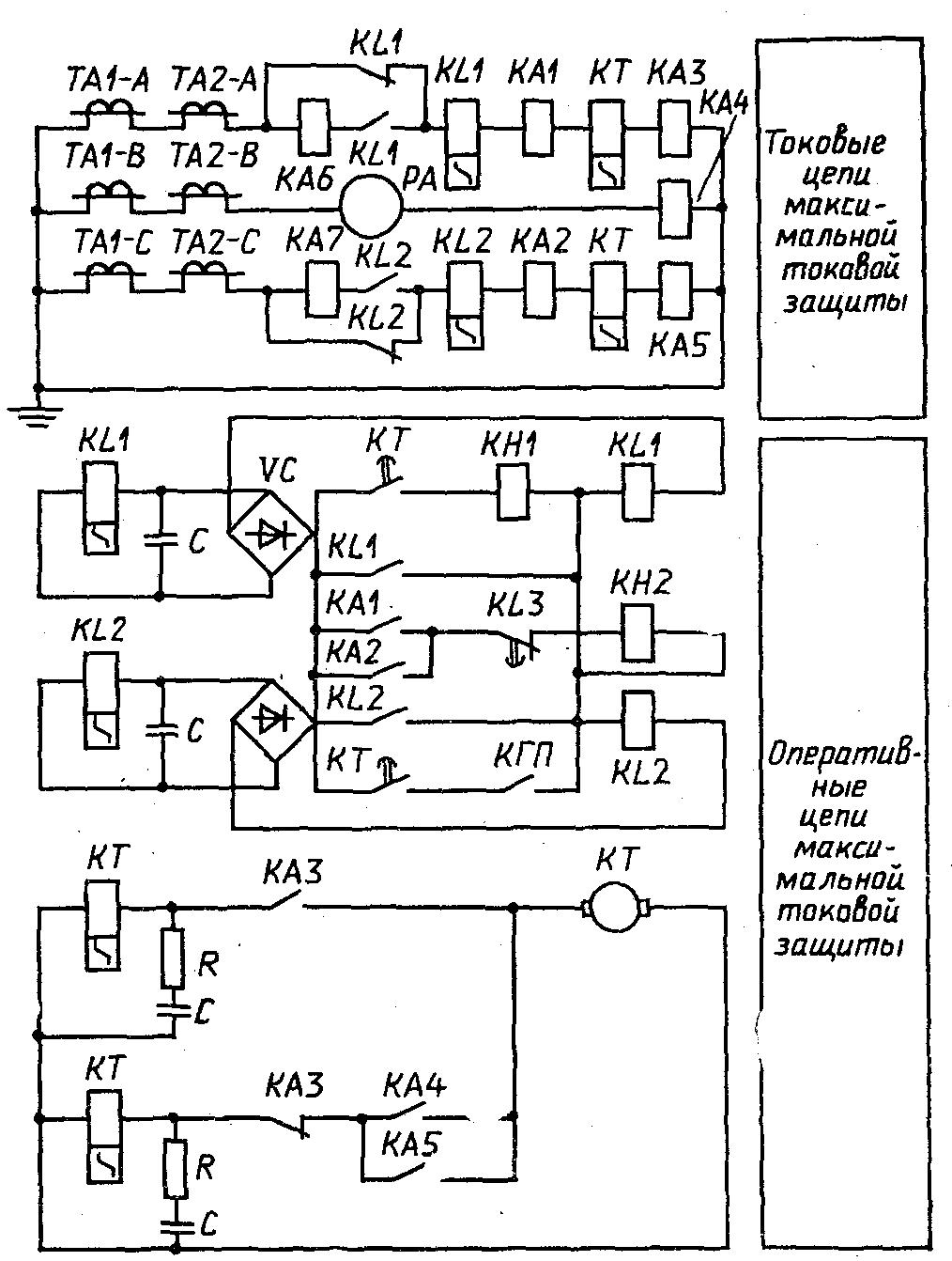 Оперативная схема авр