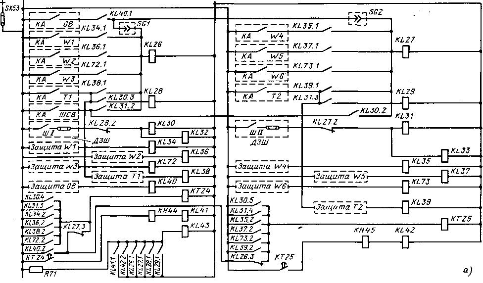 УРОВ для схемы двойной системы