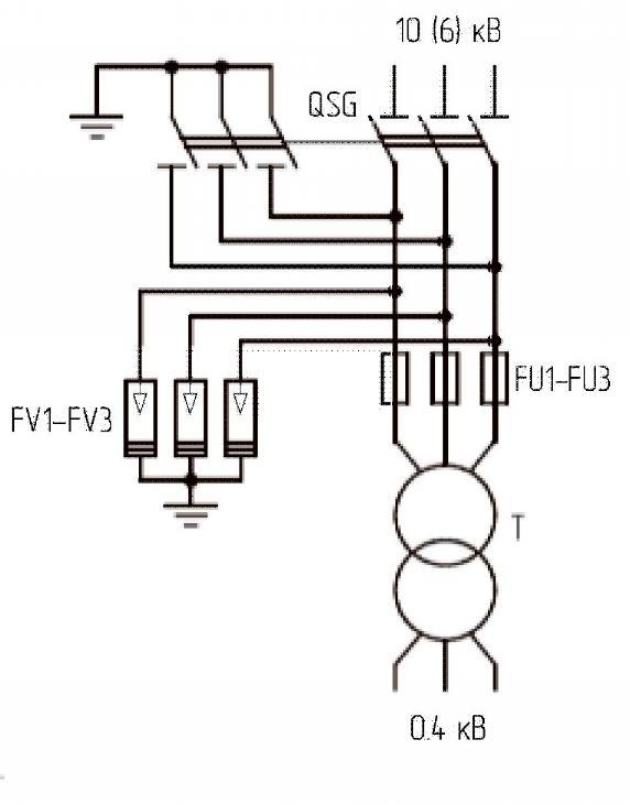 КТП ТКк электрическая схема