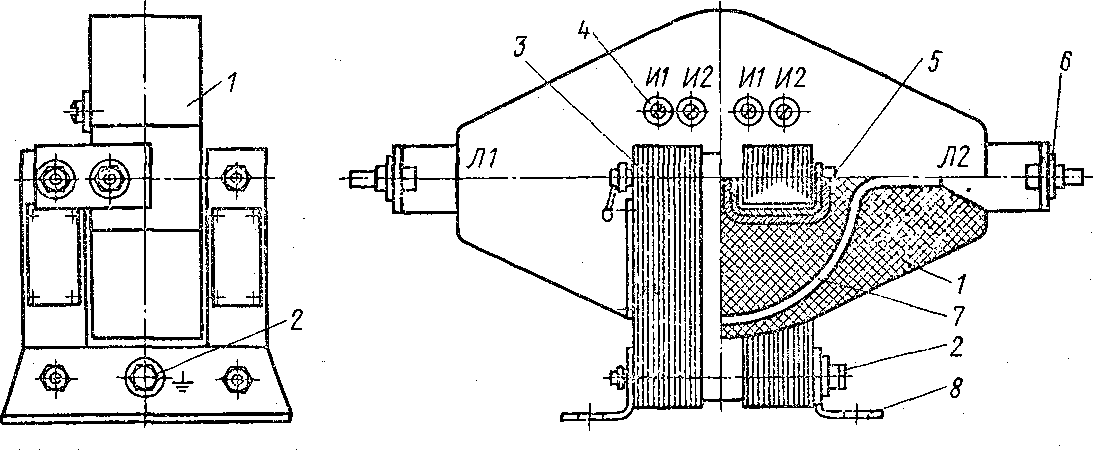 Трансформатор тока ТПЛ-10: