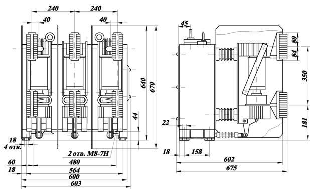 Схема выключателя вбэк